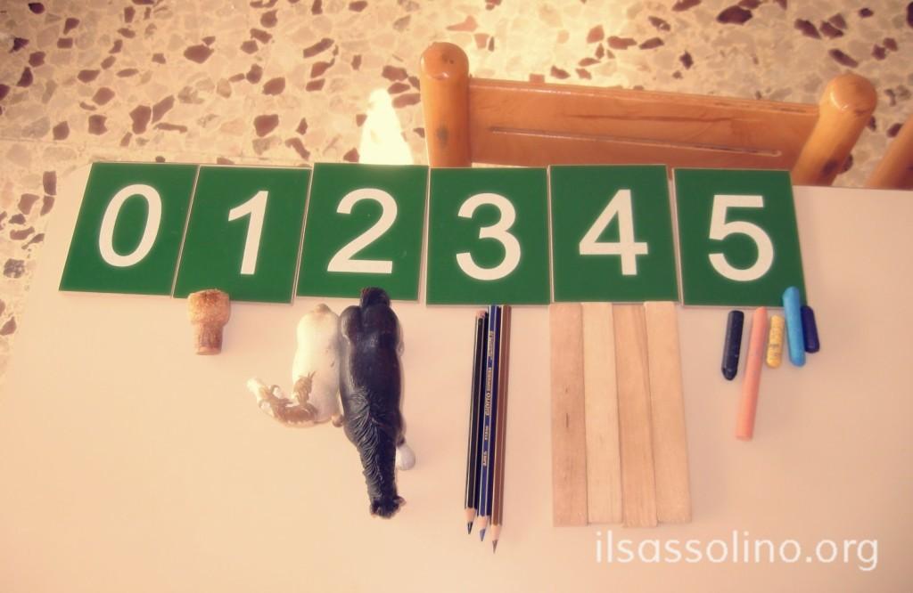 Numerazioni con le cifre smerigliate