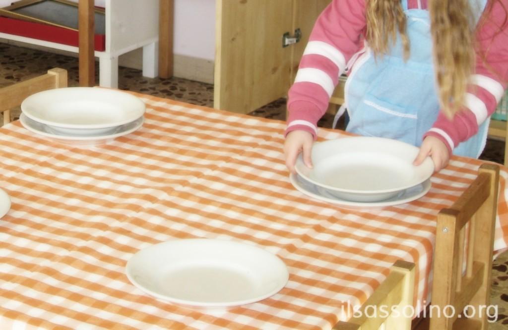 Apparecchiatura dei tavoli