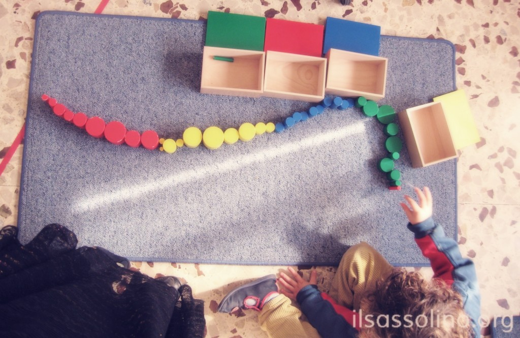 Alla scoperta dei cilindri colorati
